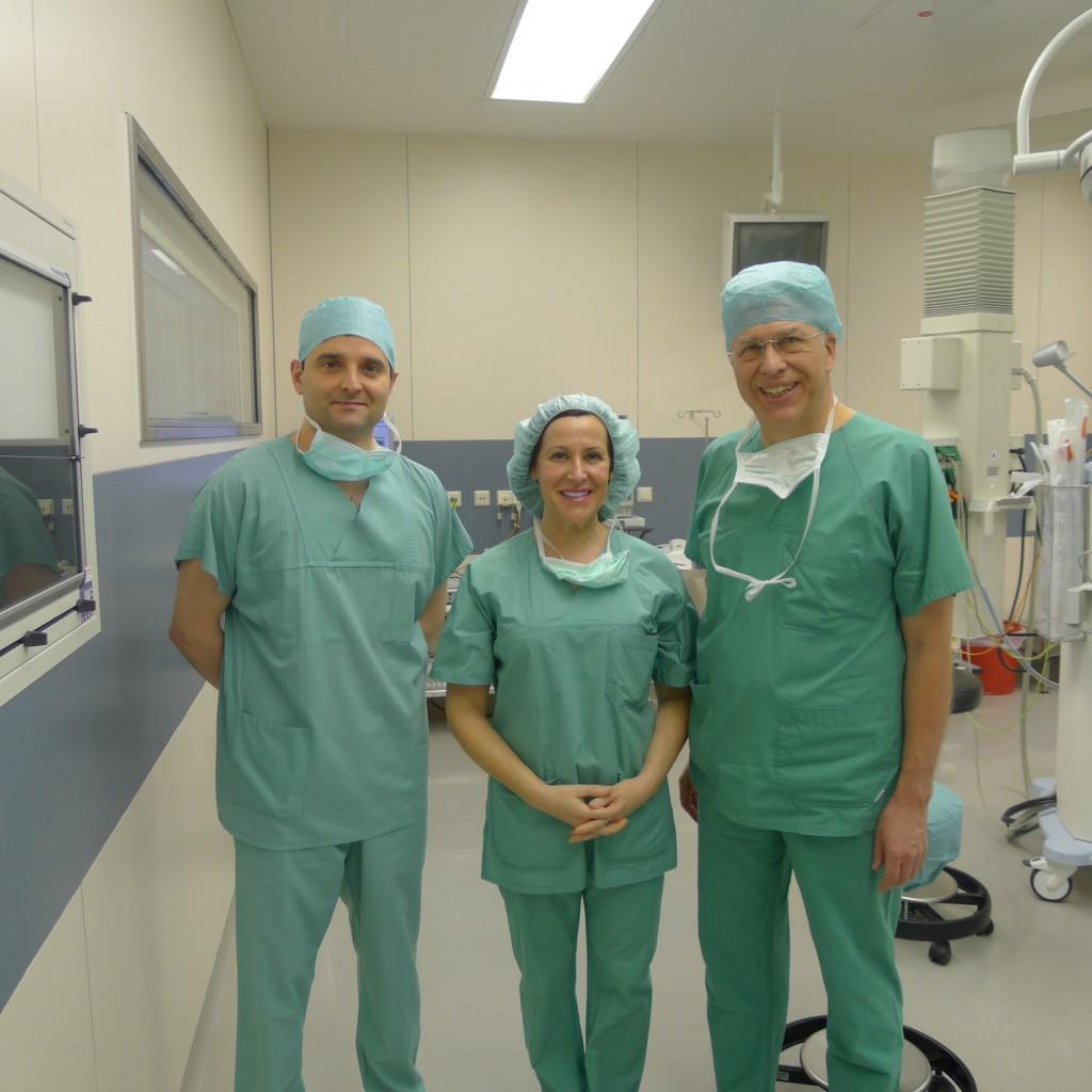 La Doctora Martínez Plaza con Doctor Hemprich2