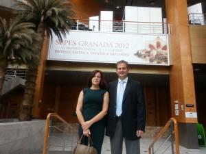 La Doctora Martínez Plaza con el Doctor Antonio España