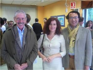 La Doctora Martínez Plaza con los doctores Ortiz Monasterio y Fernando Molina