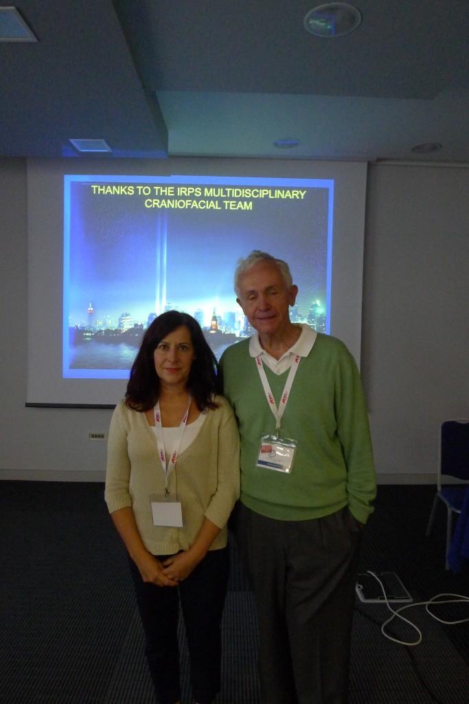 La Doctora Martínez Plaza en Dubrovnik con el Doctor Mccarthy